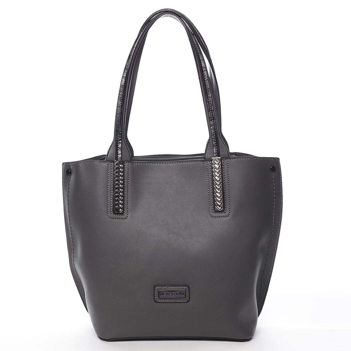 Dámska kabelka cez rameno šedá - Pierre Cardin Yanna čierna