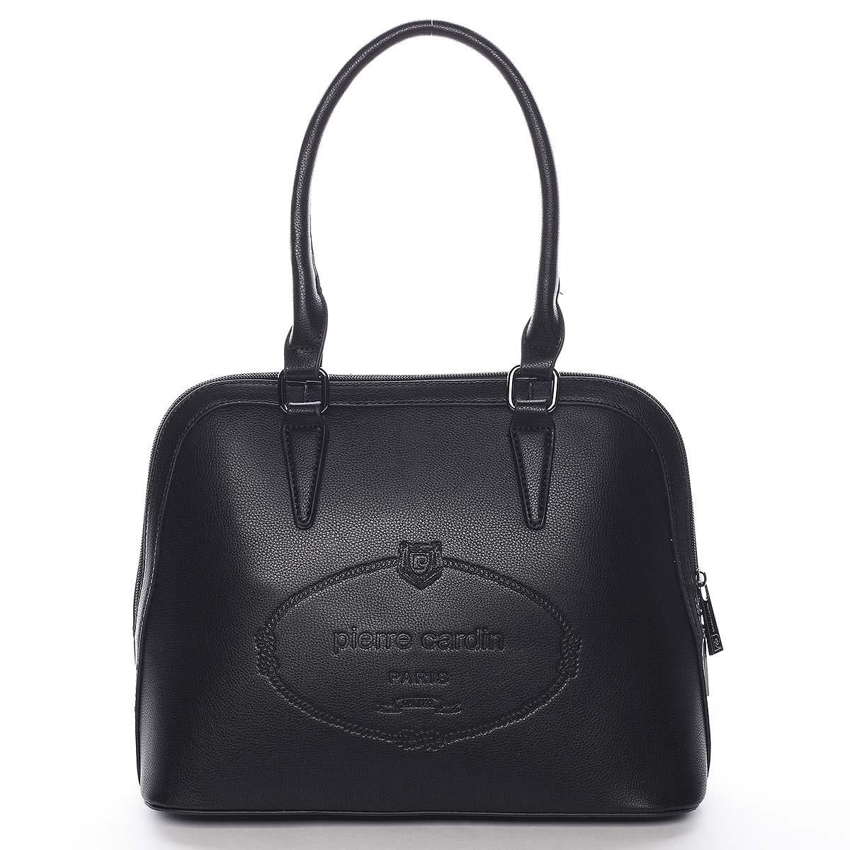 Dámska kabelka do ruky čierna - Pierre Cardin Beliana čierna