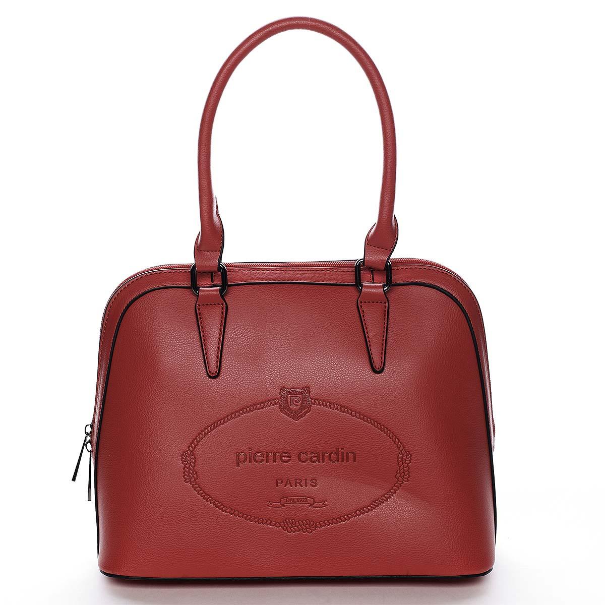 Dámska kabelka do ruky červená - Pierre Cardin Beliana červená