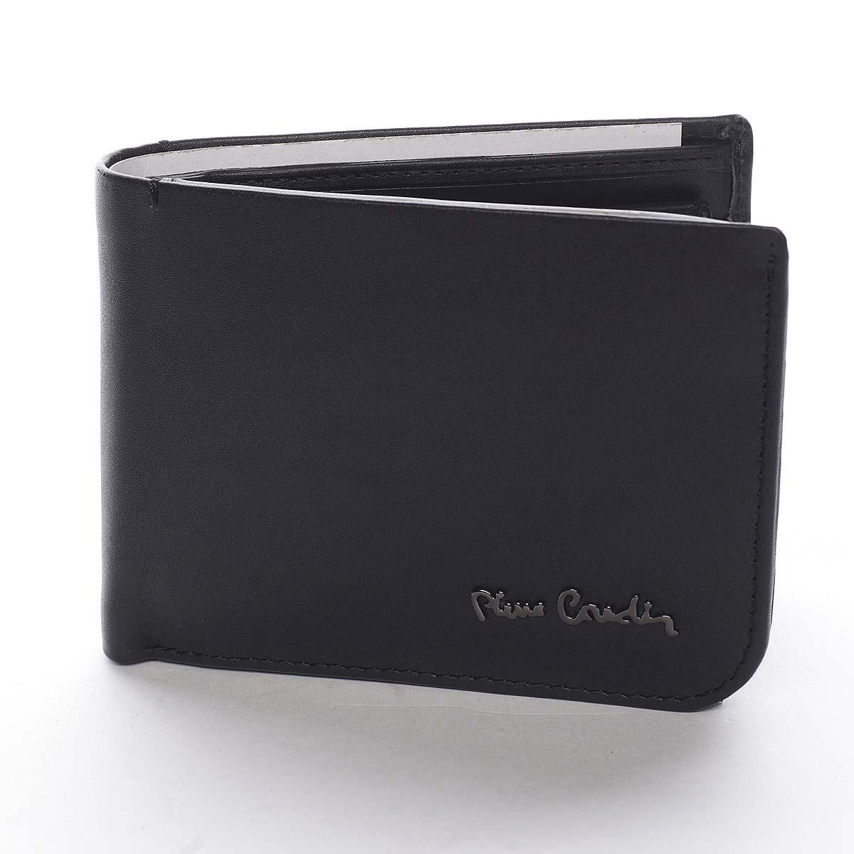 Pánska kožená peňaženka čierna - Pierre Cardin Tilak čierna