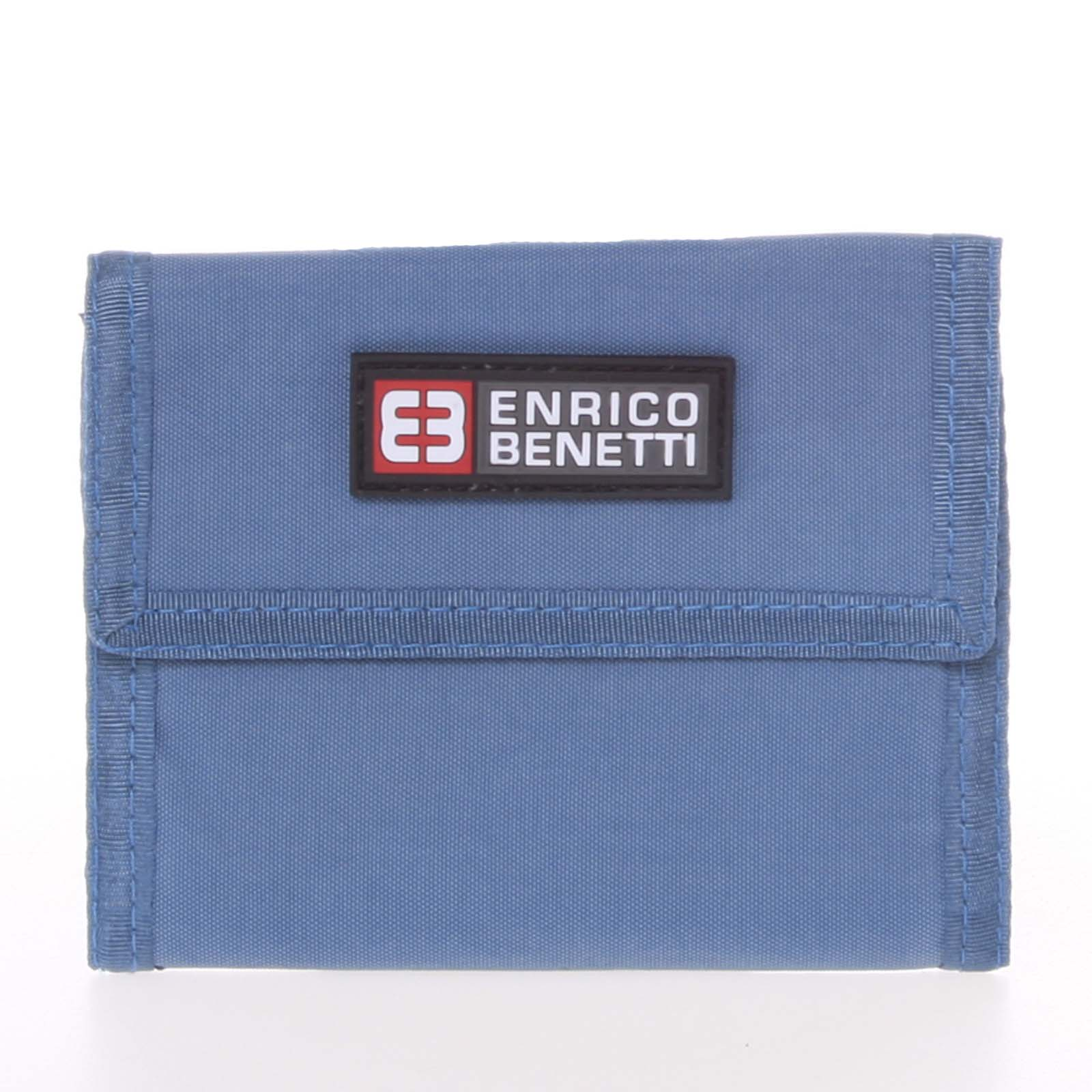 Jeansová látková peňaženka Enrico Benetti 14607 modrá