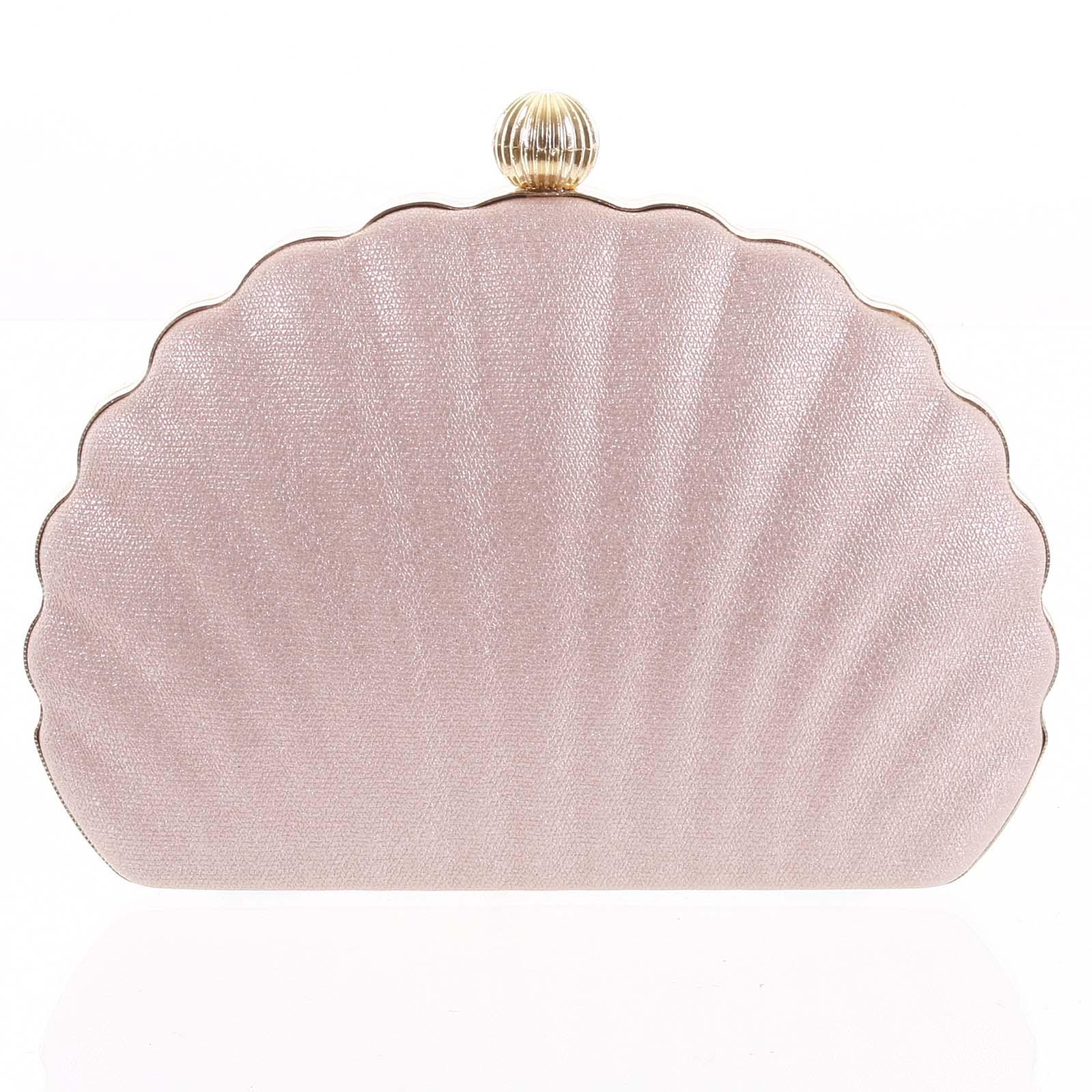 Dámska listová kabelka ružová - Michelle Moon Seashell ružová
