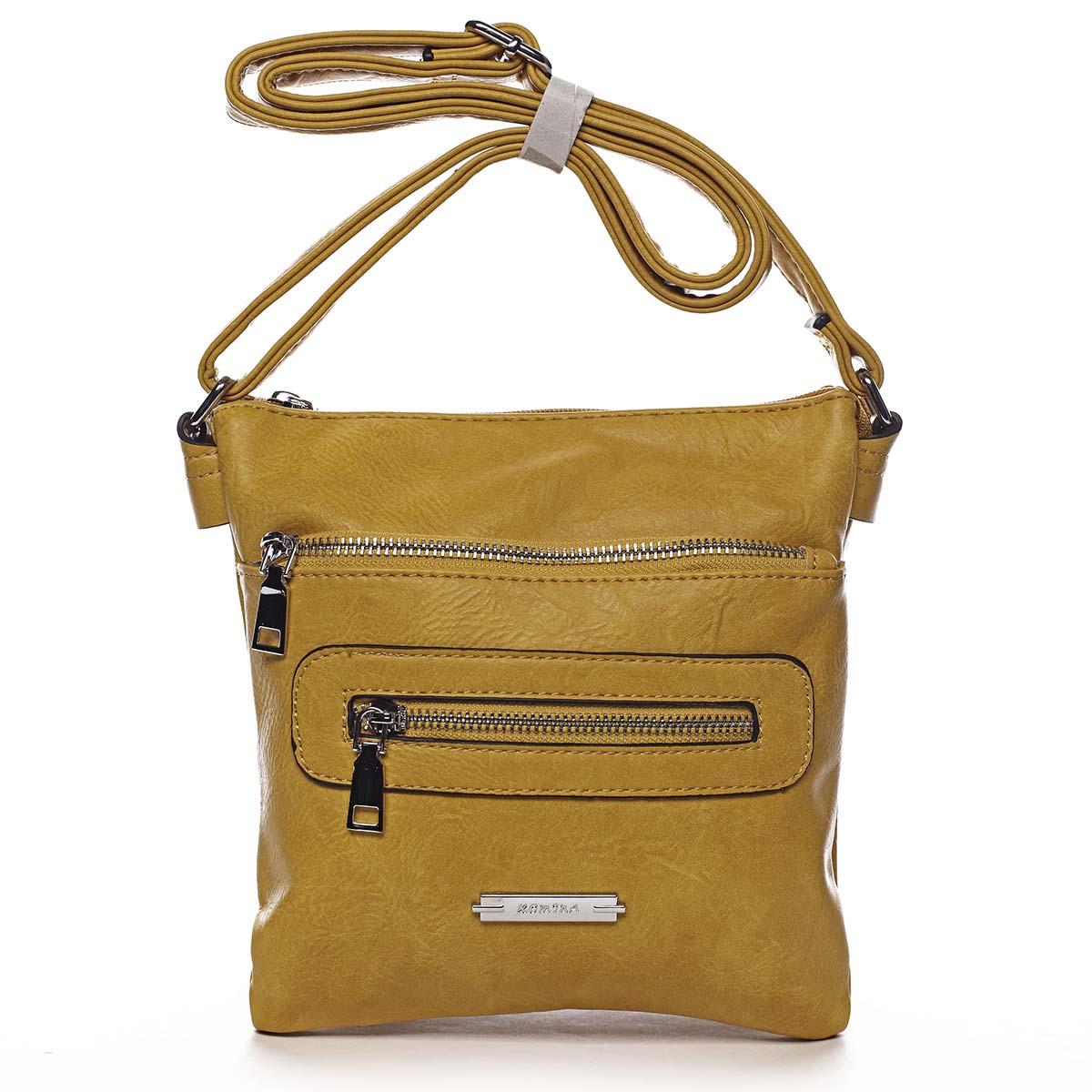 Dámska crossbody kabelka žltá - Romina Chasing žltá