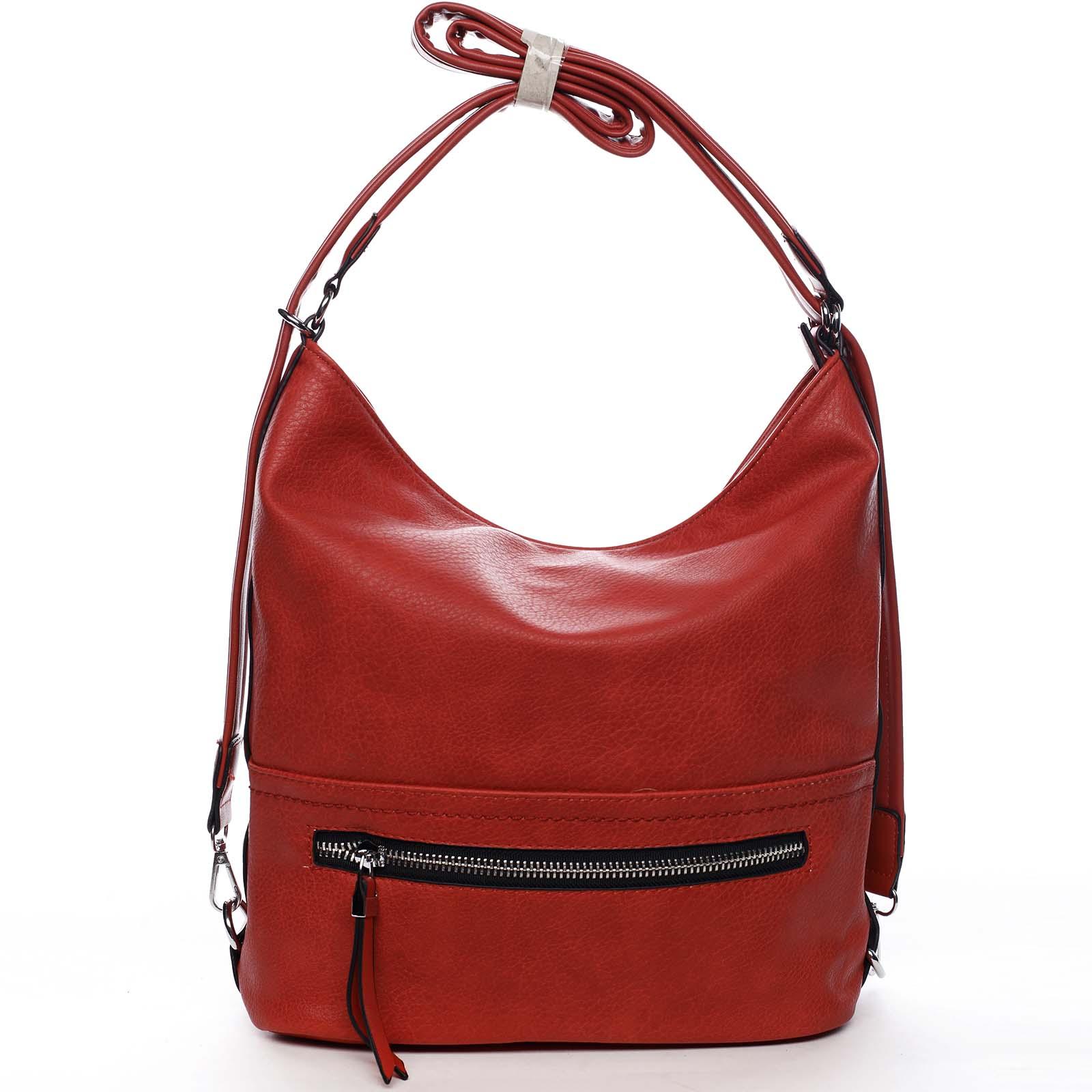 Dámska kabelka červená - Romina Nikka červená