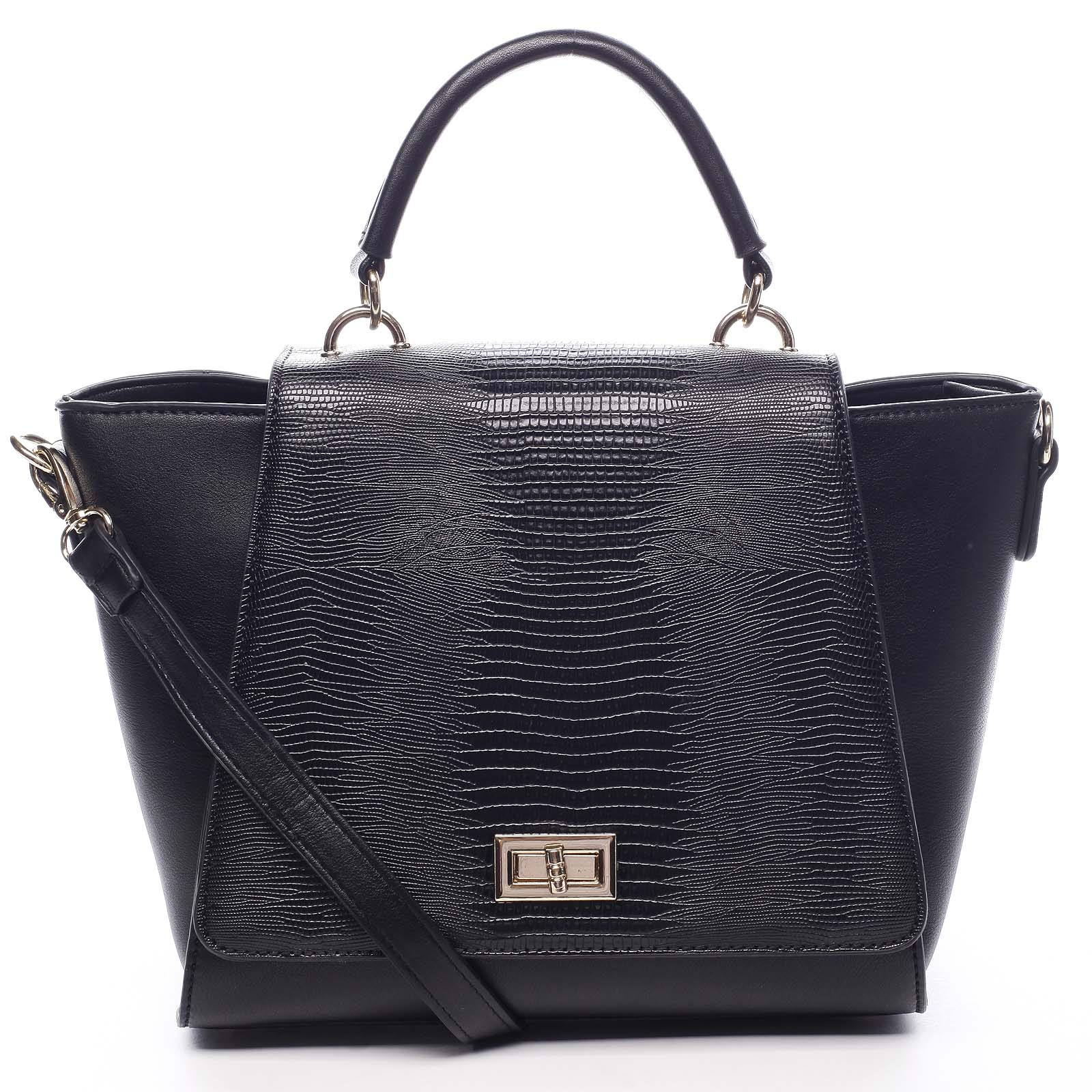 Dámska kabelka do ruky čierna - Dudlin Mirla čierna