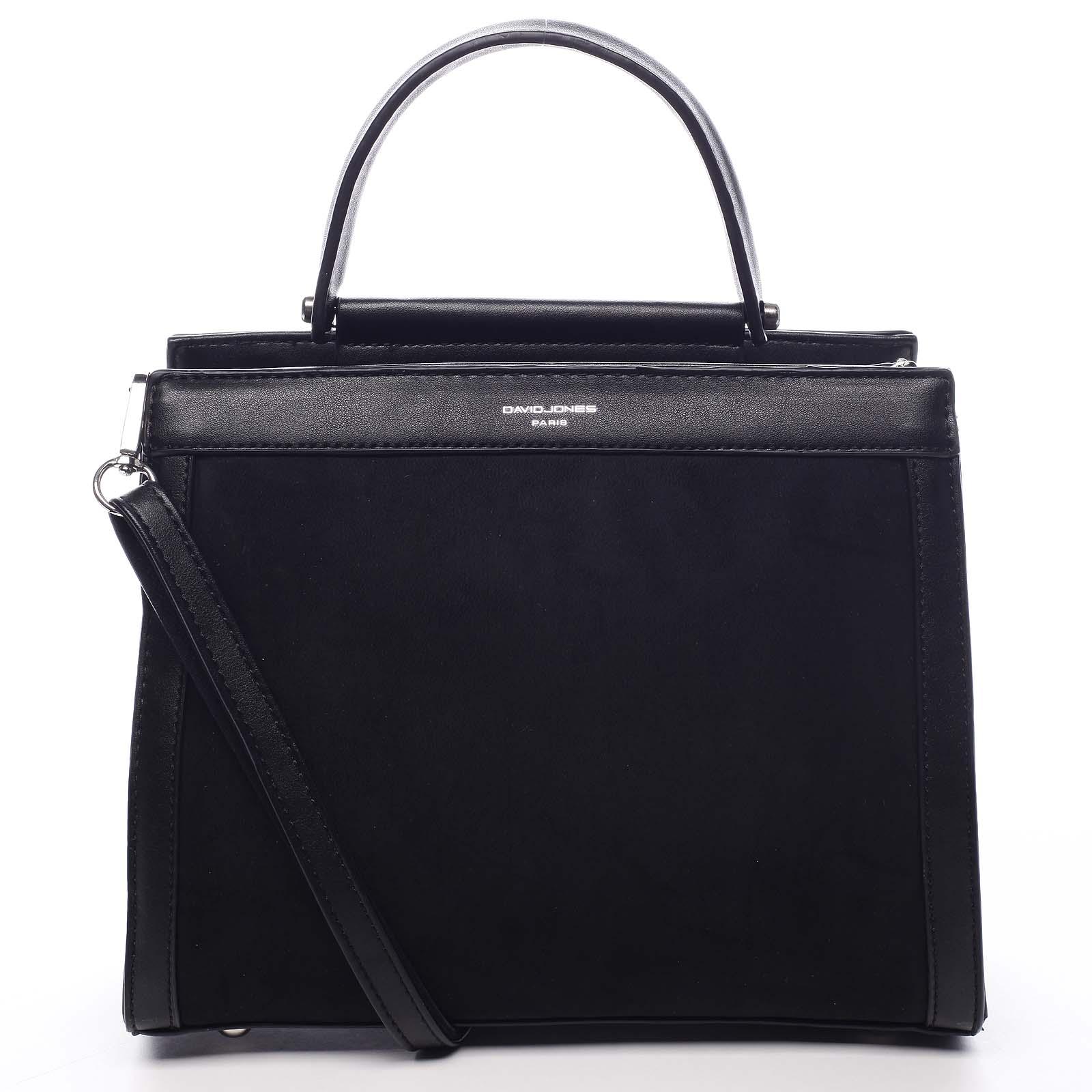 Dámska kabelka do ruky čierna - David Jones Pireta čierna