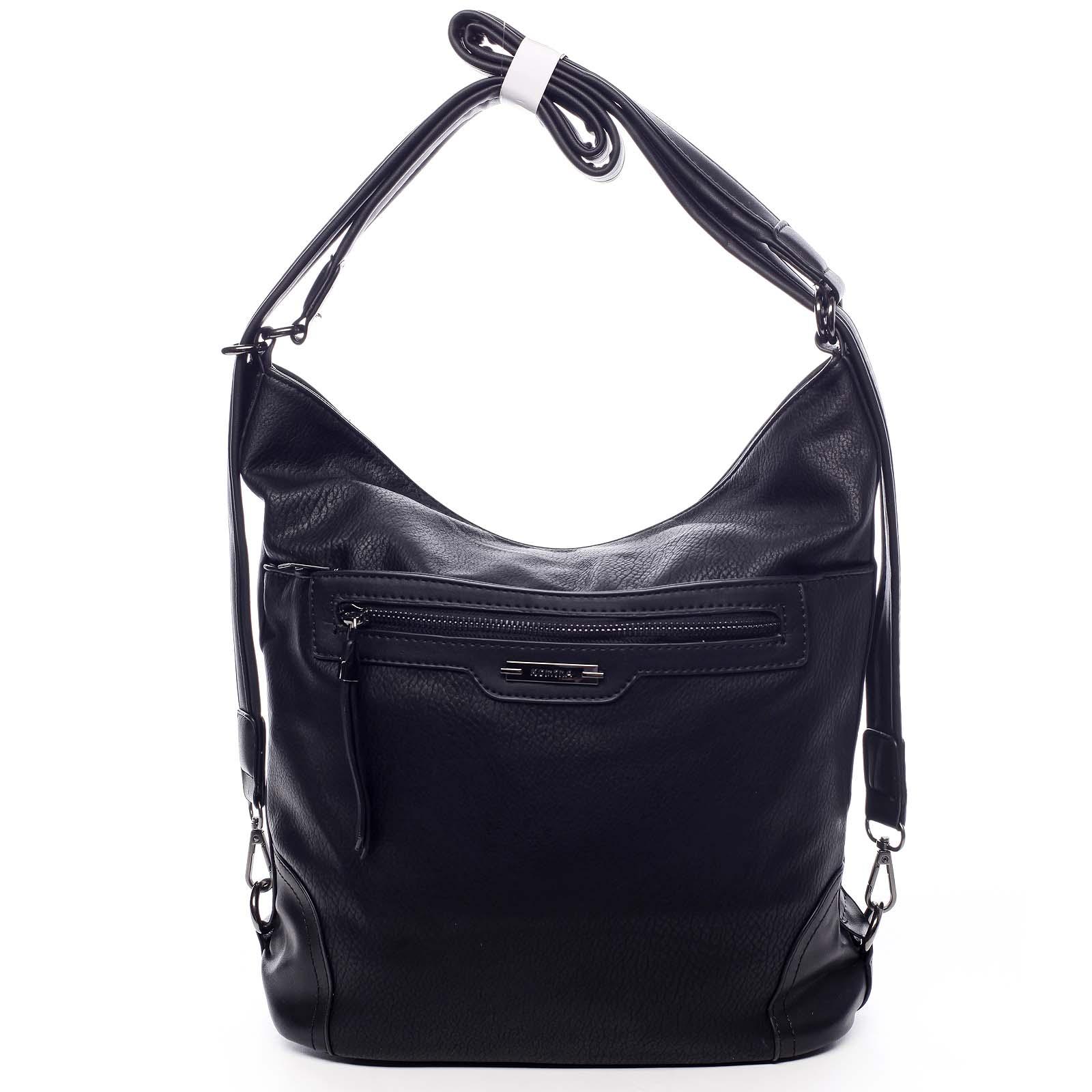 Dámska kabelka batoh čierna - Romina Zilla čierna