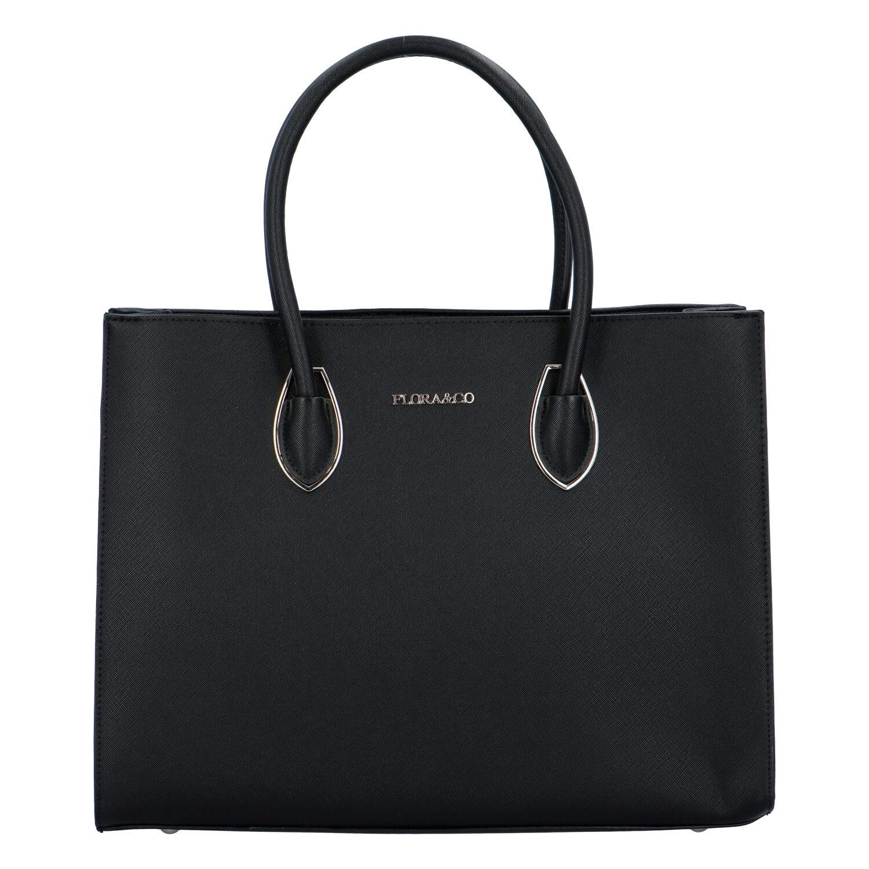 Dámska kabelka cez rameno čierna - FLORA&CO Xenres čierna