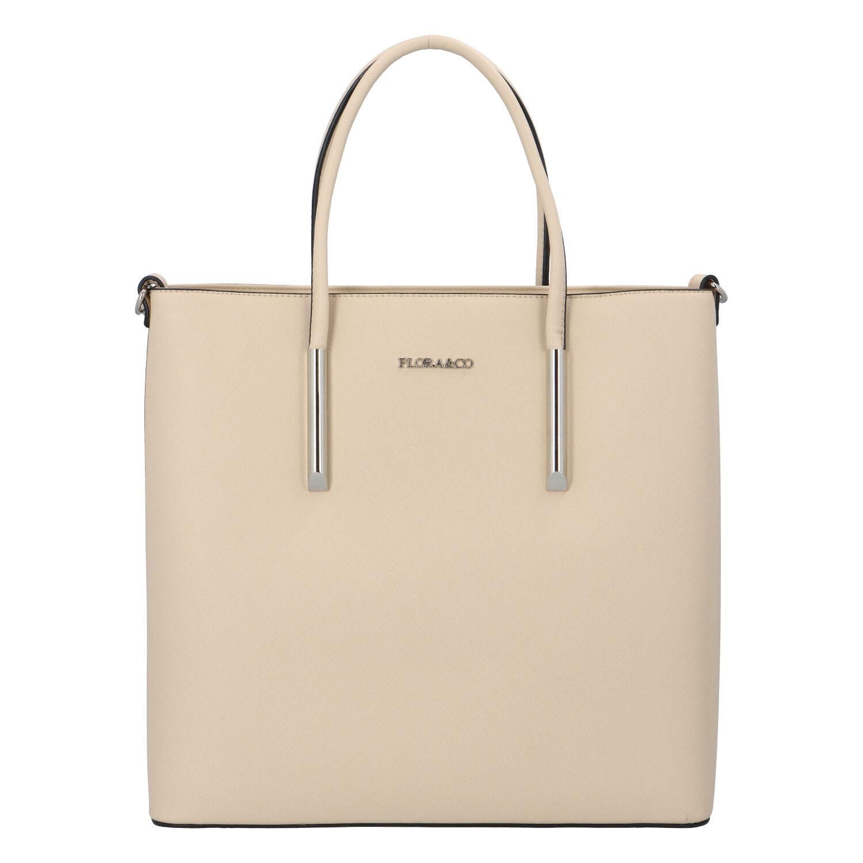 Luxusná dámska kabelka béžová - FLORA&CO Paris béžová