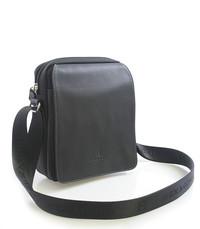 e977b229d Čierna pánska kožená taška cez rameno Hexagona 299162