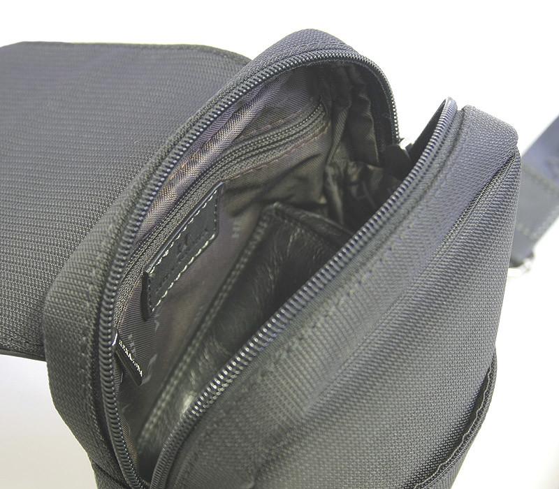 ... Luxusná pánska kožená kabelka cez rameno čierna - Hexagona Filippo ... 69ab9f153d8
