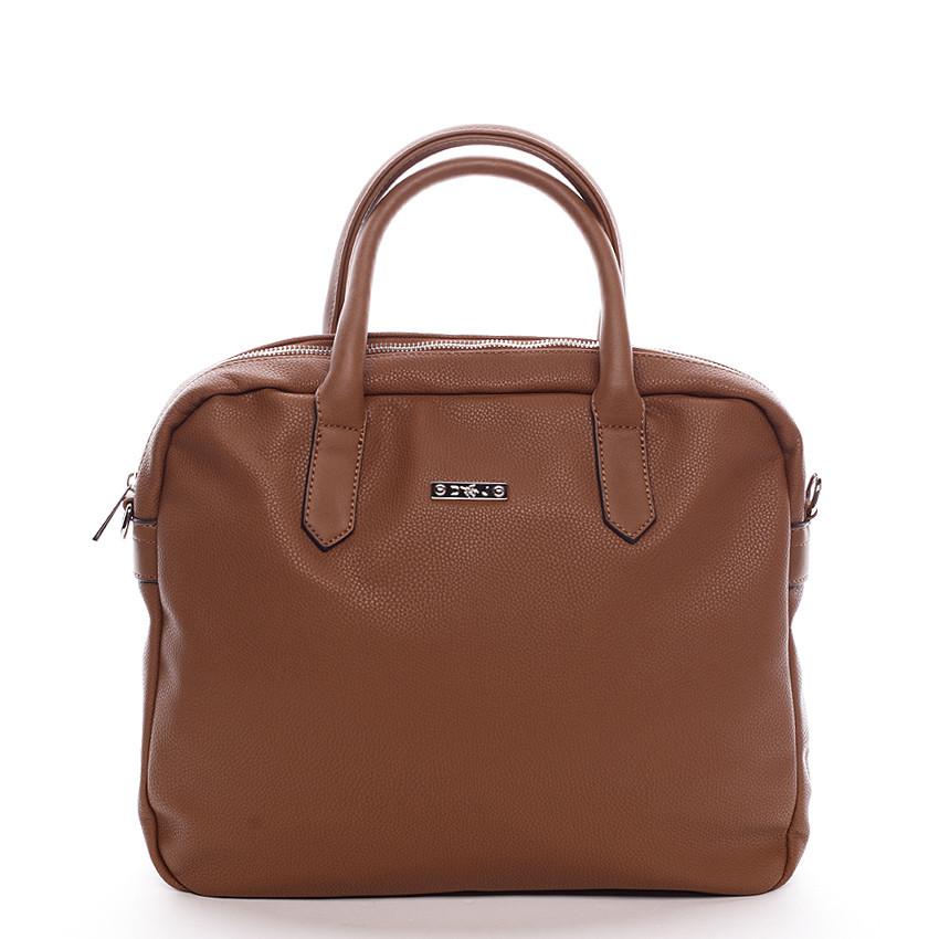a1eedb1b35 Hnedá kabelka taška David Jones Silva na notebook - Kabea.cz