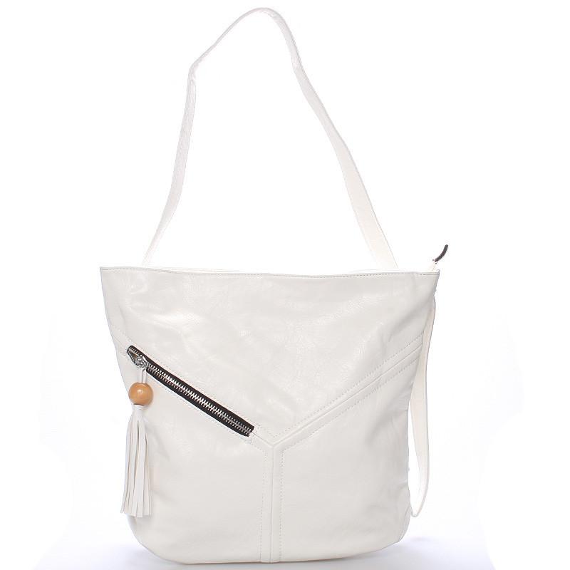 Dámsky batoh kabelka biela - Delami Valiant - Kabea.cz 2b8b4fc3f2c