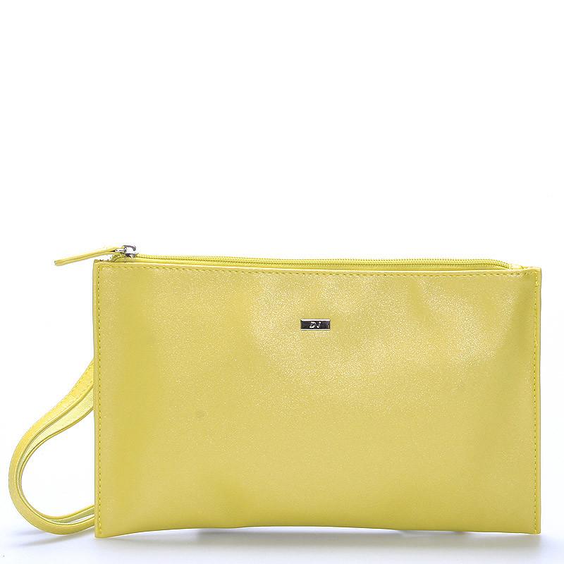 0dc40af566 Štýlová dámska crossbody listová kabelka žltá - David Jones Effulgence ...