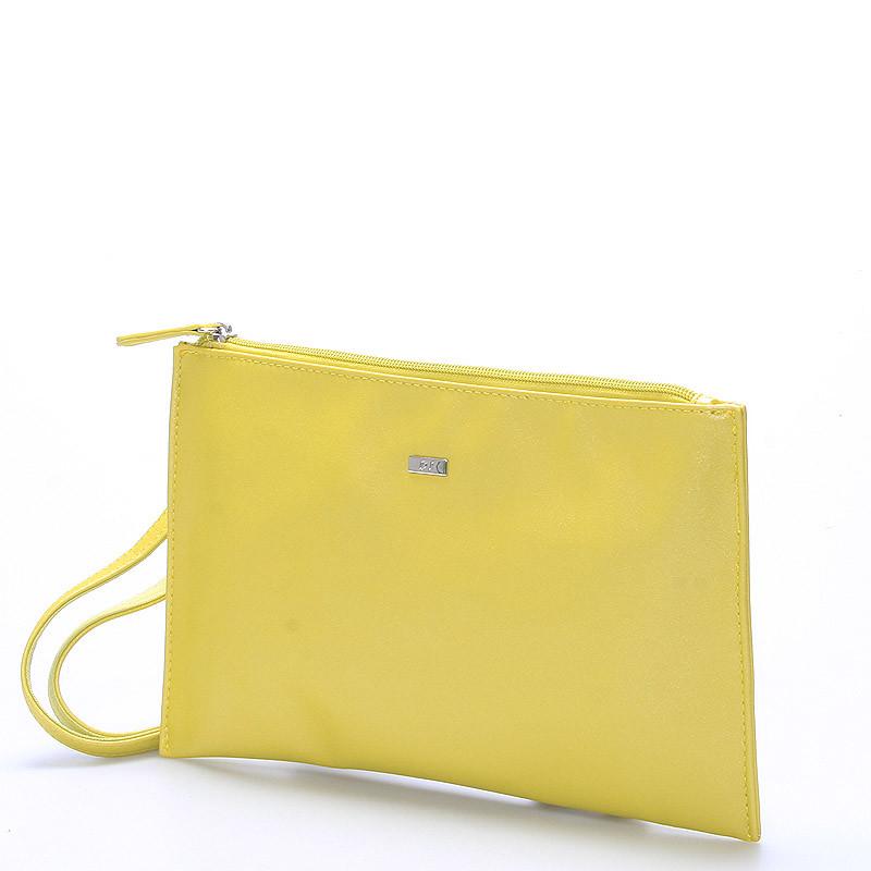 412b912952 ... Štýlová dámska crossbody listová kabelka žltá - David Jones Effulgence  ...