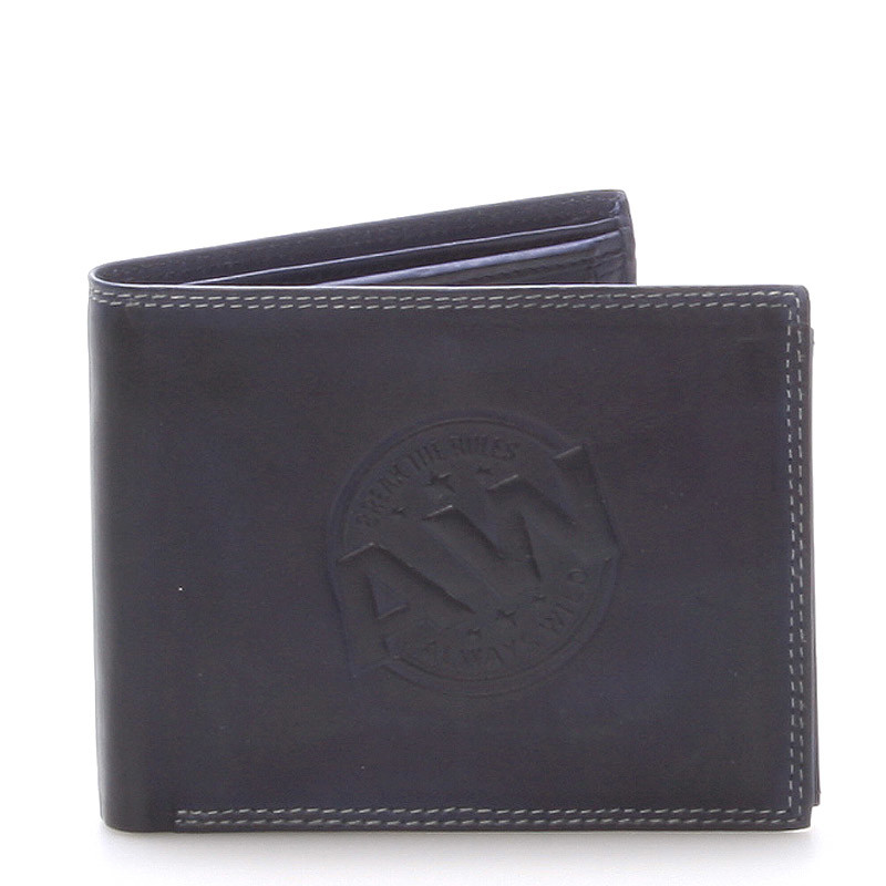 Pánska kožená peňaženka modrá - WILD Beaufort - Kabea.cz 2eff40ab328