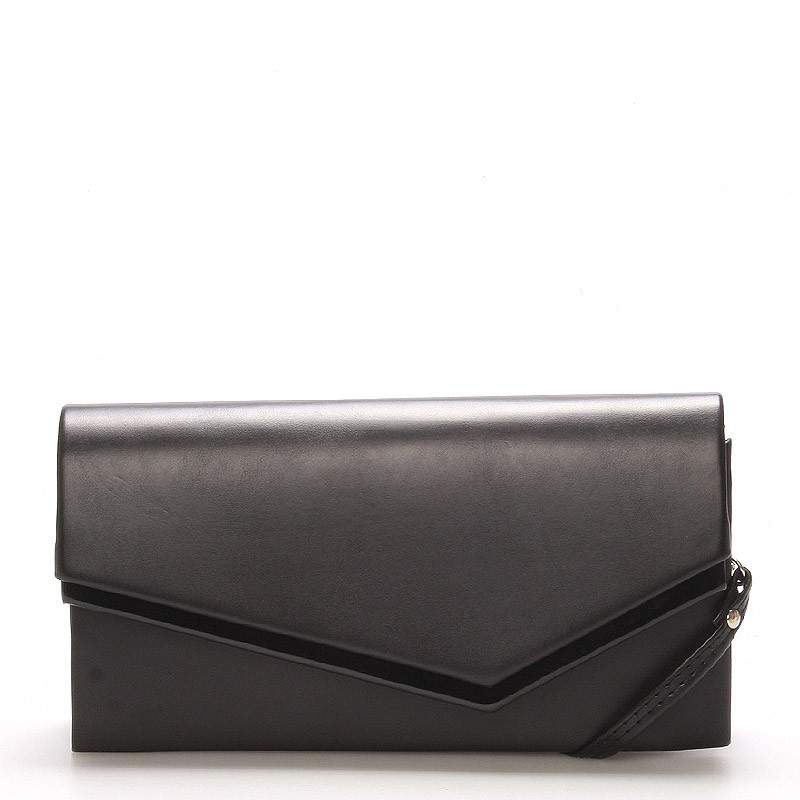 b8cb39fa7d9 Originálna dámska listová kabelka čierna matná - Delami Phoenix ...