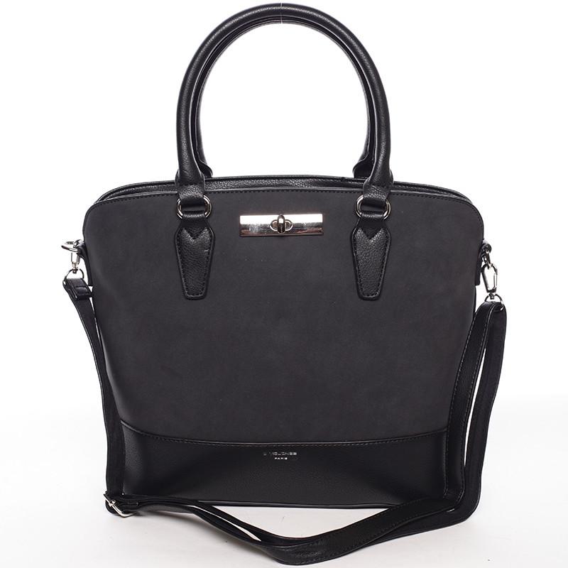 Dámska elegantná čierna kabelka - David Jones Arisia - Kabea.cz dcf3c85896a