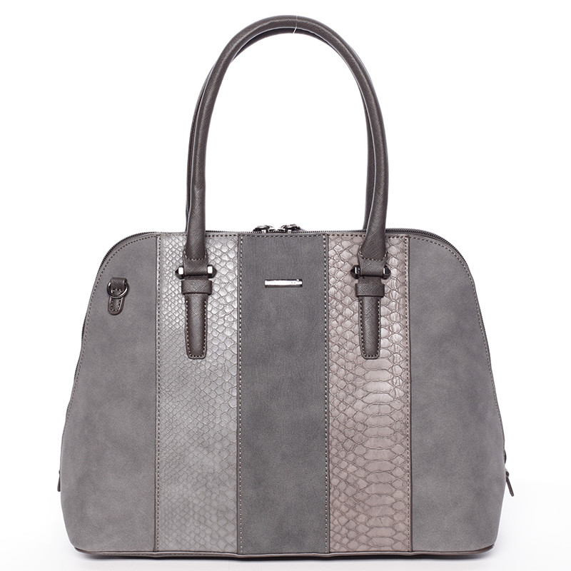 8d218a5097c7 Luxusná šedá dámska kabelka do ruky - David Jones Gaia - Kabea.cz