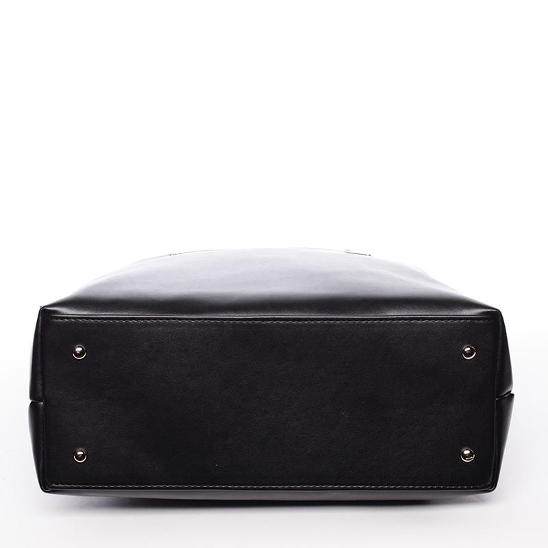 1b9f2a76bf ... Vysoká dámska elegantná kabelka cez rameno čierna - Delami Ilithya ...