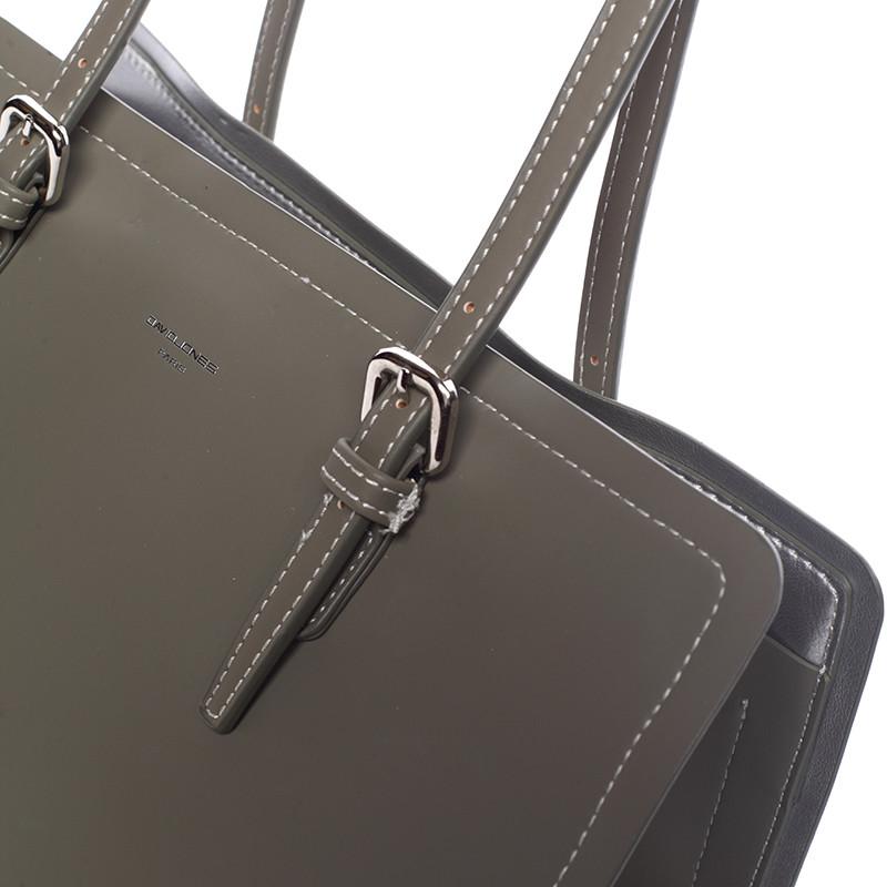 ... Elegantná olivovo zelená kabelka cez plece - David Jones Rayna ... 917e39c2c77