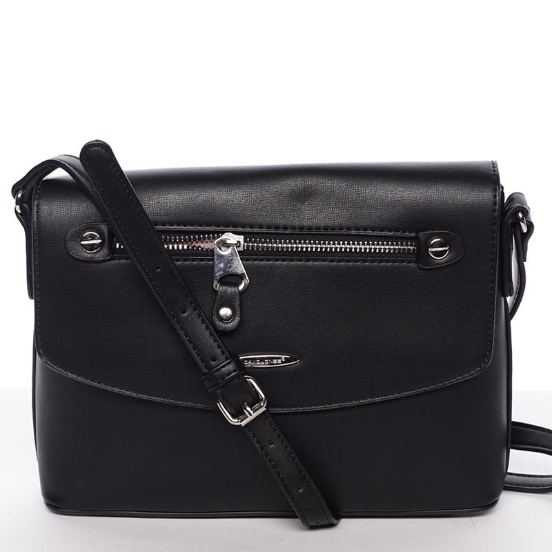 Menšia módna crossbody kabelka čierna - David Jones Azalea - Kabea.cz 2b87b5657c6