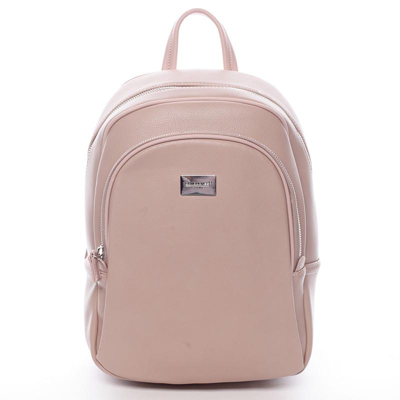 adfc714265479 Dámsky mäkký mestský batoh ružový - David Jones Beatrice - Kabea.cz