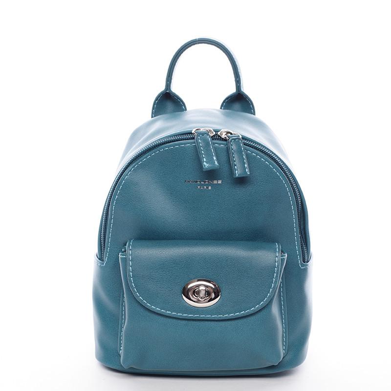 Malý originálny batoh tyrkysový - David Jones Lennan - Kabea.cz f99d7495b5