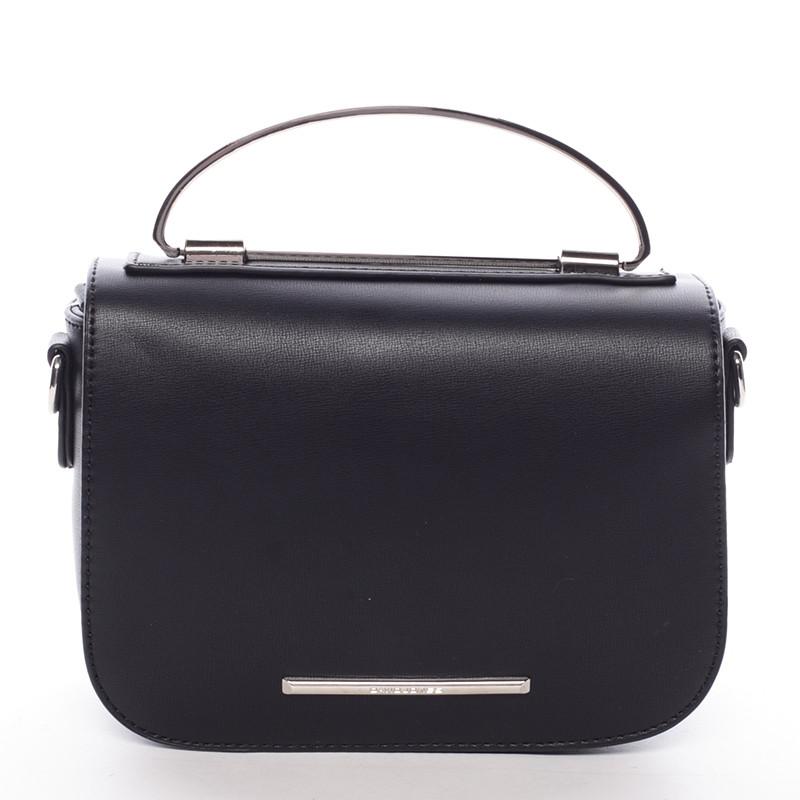 2092f47284 Malá luxusná čierna kabelka do ruky - David Jones Layna - Kabea.cz