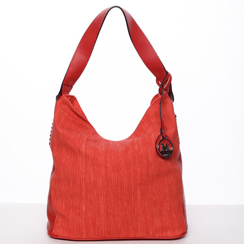 e2df310e38 Moderná dámska kabelka cez rameno červená - MARIA C Paisley - Kabea.cz