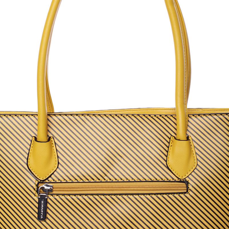 Originálna väčšia kabelka žltá - Silvia Rosa Ciara - Kabea.cz 1b66e6c6296