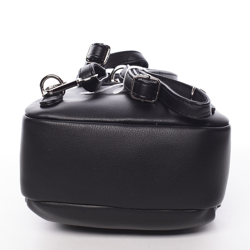 9eee17ef7c ... Malý dámsky čierny mestský batôžtek kabelka - David Jones Aubri ...