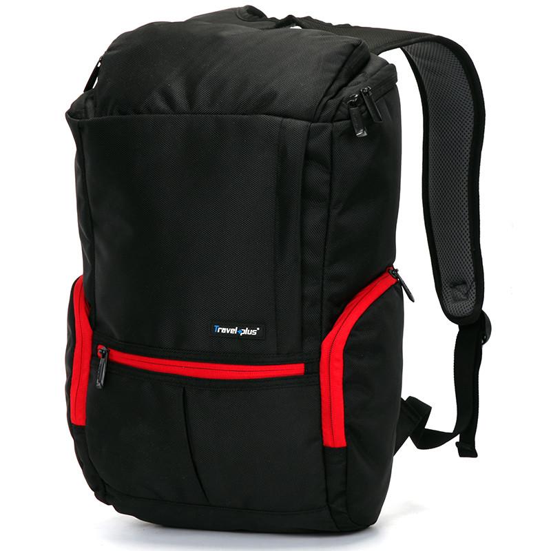 Veľký cestovný čierny batoh - Travel plus 0069 - Kabea.cz 6bb7537175e