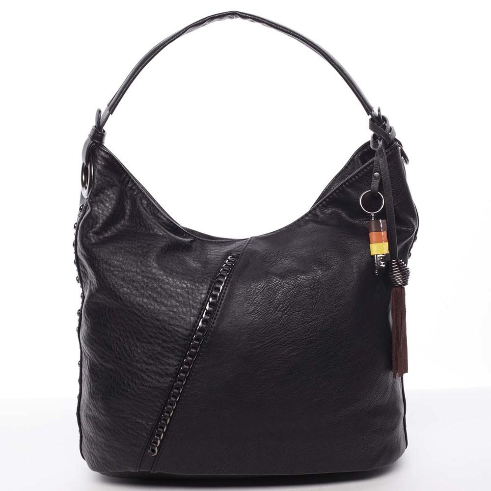 697ca1a671 Trendy dámská kabelka do ruky černá - MARIA C Macie - Kabea.cz