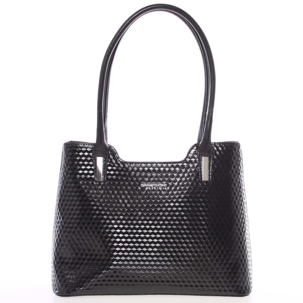 Čierna dámska kabelka cez rameno - Annie Claire 3020 - Kabea.cz ea941bf951f