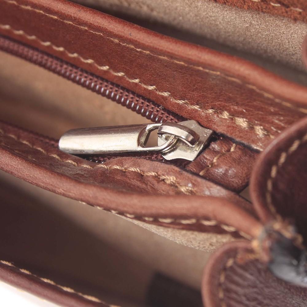 Malá čierna hladká crossbody kožená kabelka - Italo EmZoya - Kabea.cz de7a43399ac