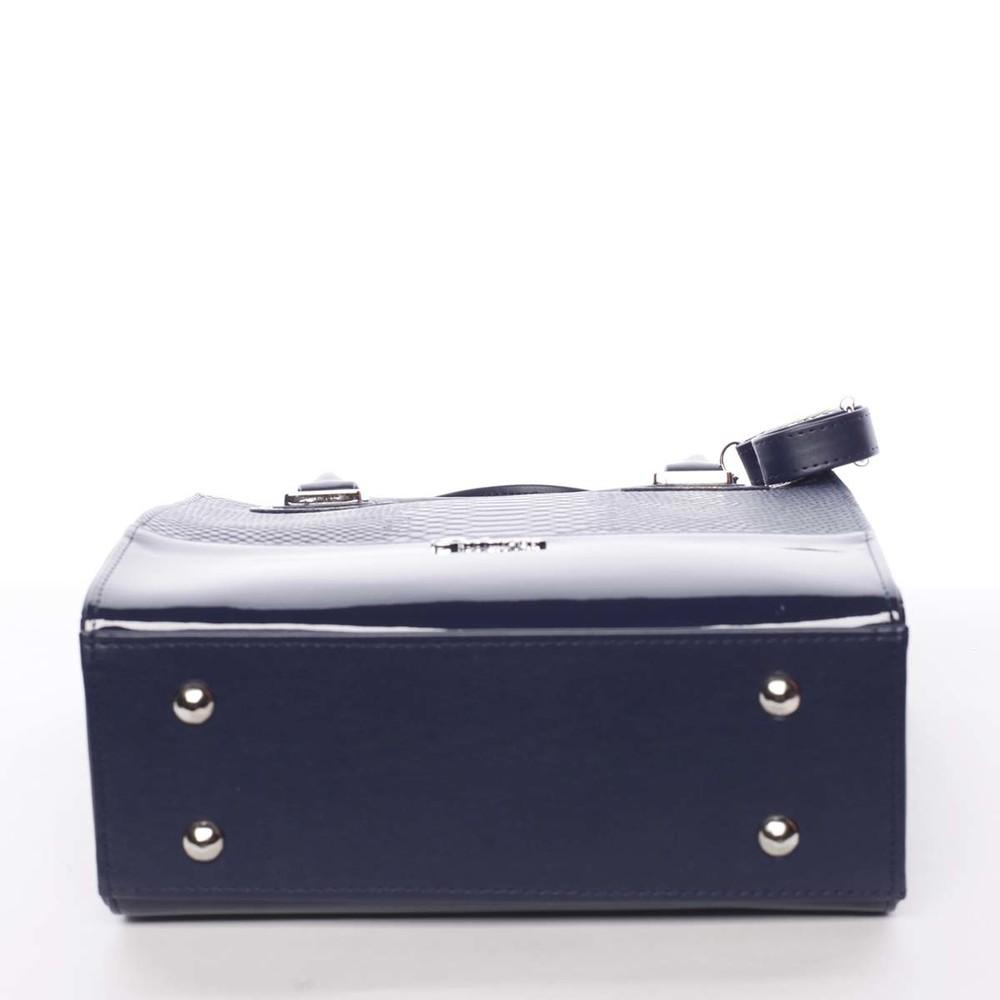 Dámska luxusná lakovaná kabelka čierna - Maggio Claudine - Kabea.cz 9fc40fadb44