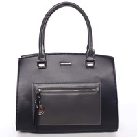 Moderná dámska kabelka do ruky tmavomodrá - David Jones Agalaia 3679acee23c
