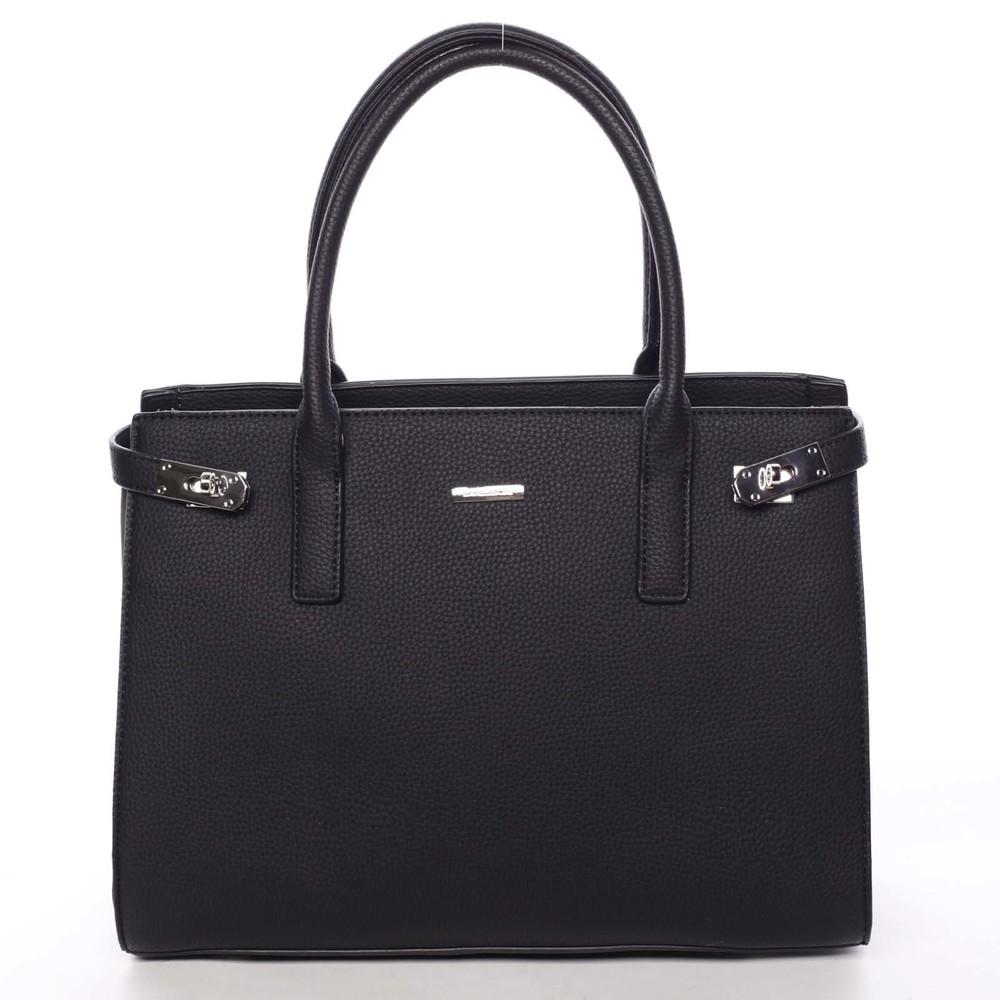 Atraktívna dámska kabelka do ruky čierna - David Jones Eugenie ... 64c5366ebcd