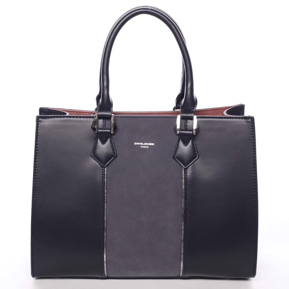 Elegantná dámska tmavomodrá kabelka do ruky - David Jones Zeruiah ... fb40c3a539d