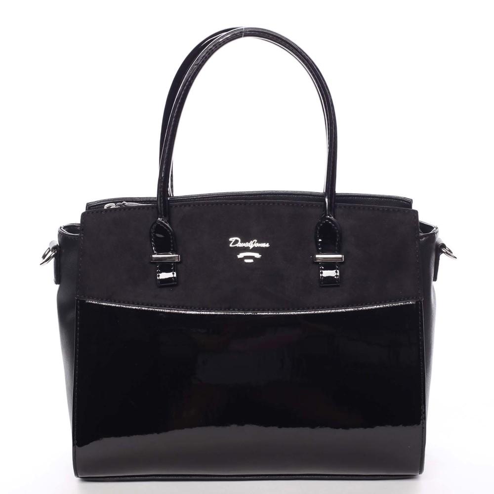 d55ac7b9450e Nadčasová stredne veľká dámska čierna kabelka - David Jones Leonelle ...