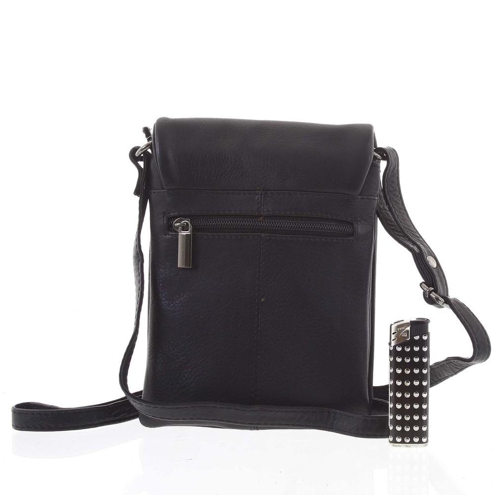 Originální kožená kabelka černá - WILD Yema - Kabea.cz d09c50aad8c