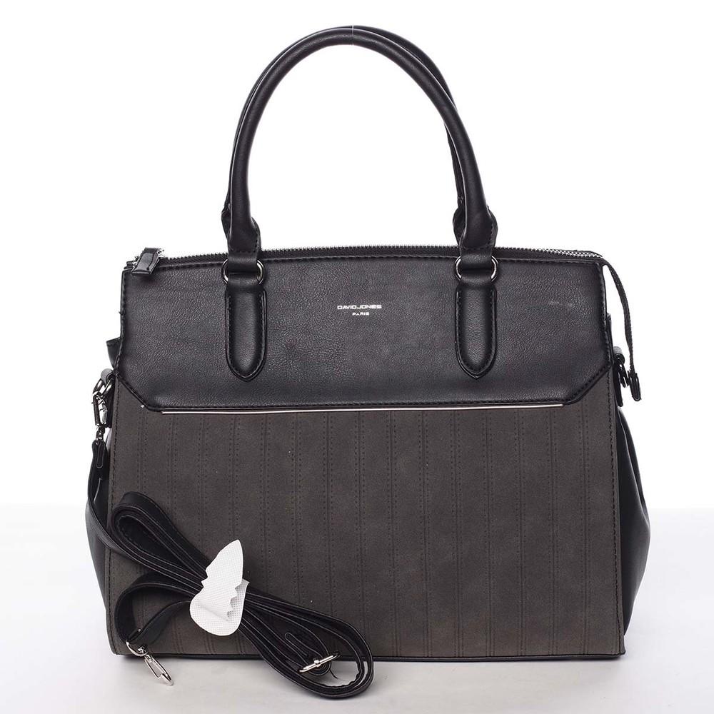 c6d9a9f386 Luxusná nadčasová dámska čierna kabelka - David Jones Allison - Kabea.cz