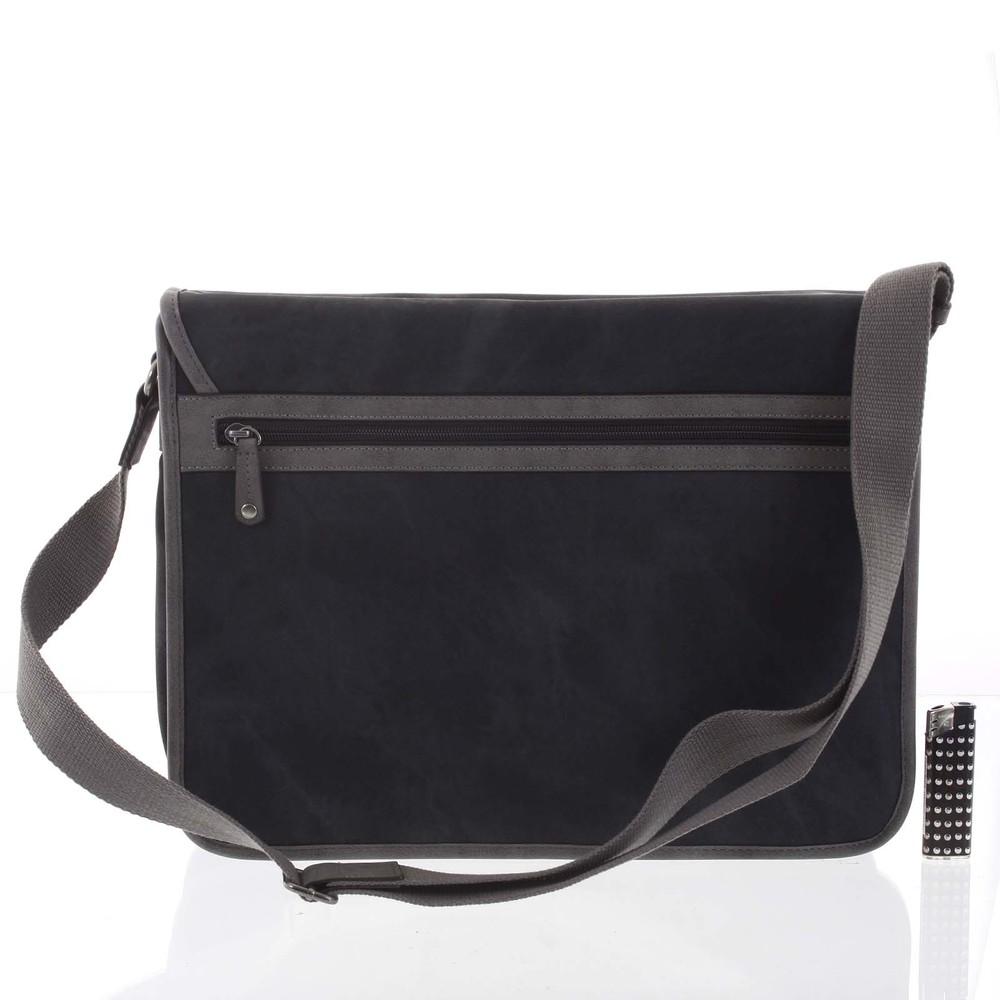 ... Veľká čierna moderná taška na notebook - Lee Cooper Aesculapius ... 87768d25172