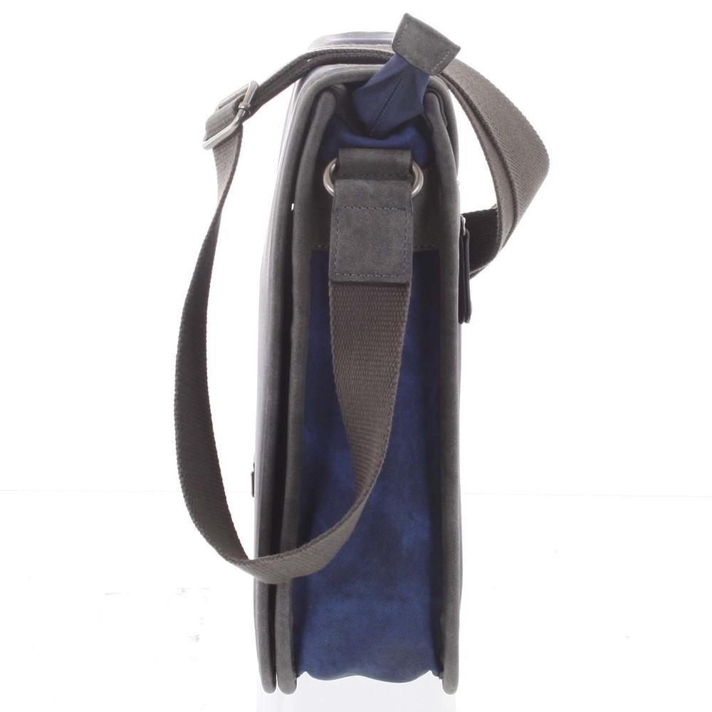 897e00e2cddd5 ... Veľká modrá moderná taška na notebook - Lee Cooper Aesculapius ...