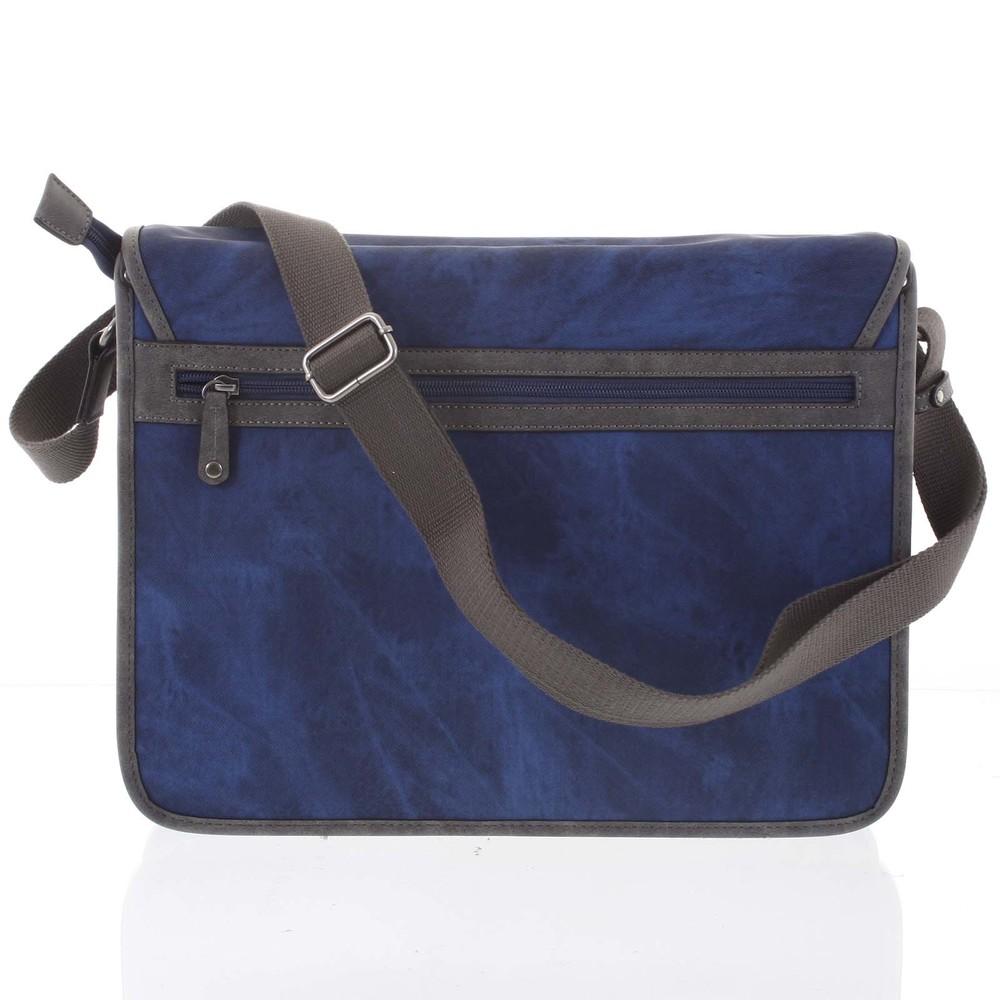 6dc404e209 ... Veľká modrá moderná taška na notebook - Lee Cooper Aesculapius ...