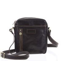 ccac281b6 Černá business kožená taška na doklady Gil Holsters G52559 - Kabea.cz