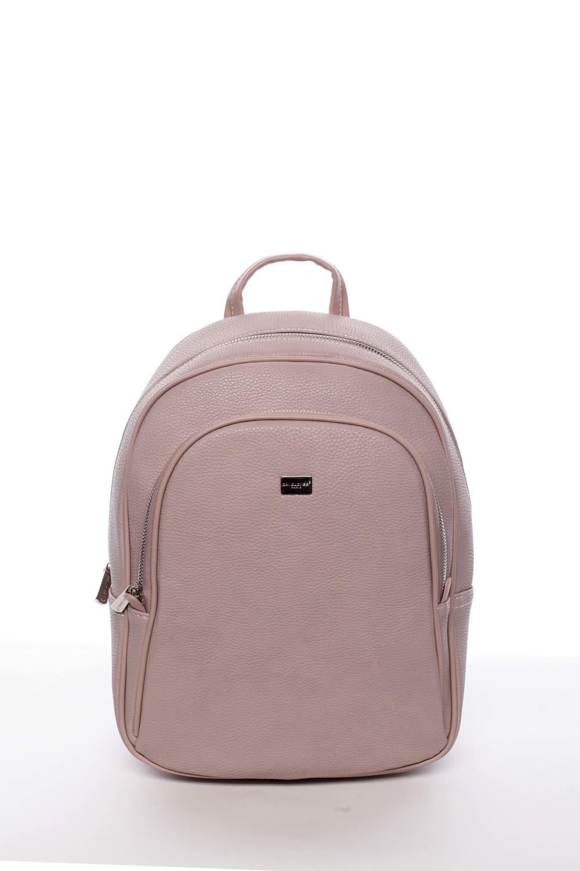 3fcaba9755c4d Veľký dámsky mäkký mestský ruksak lososovo ružový - David Jones Beatrikas  ...