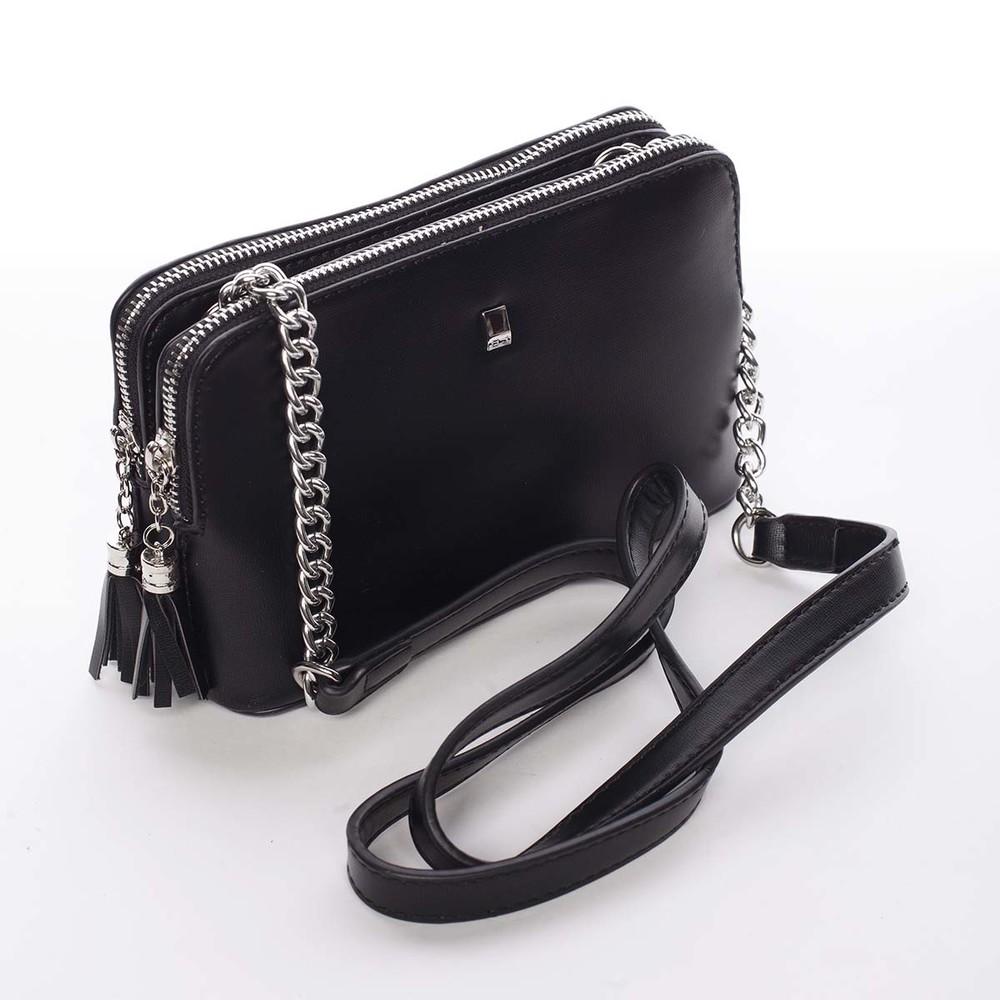 ... Malá elegantná a moderná crossbody kabelka čierna - David Jones Melany  ... 441613859c0