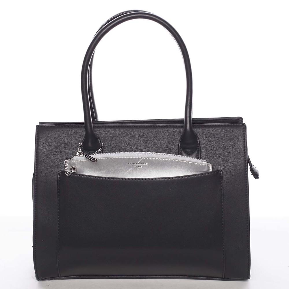 2f09b7a6e Exkluzívna dámska čierna kabelka - David Jones Hillary - Kabea.cz